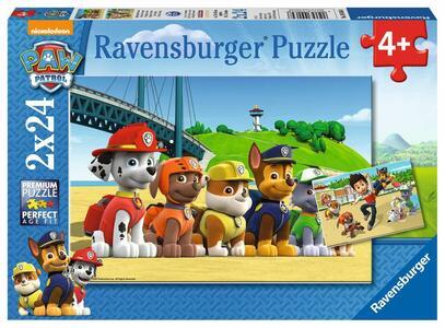 PUZZLE DOPPIO 24 PEZZI PAW PATROL 26 X 18 CM RAVENSBURGER