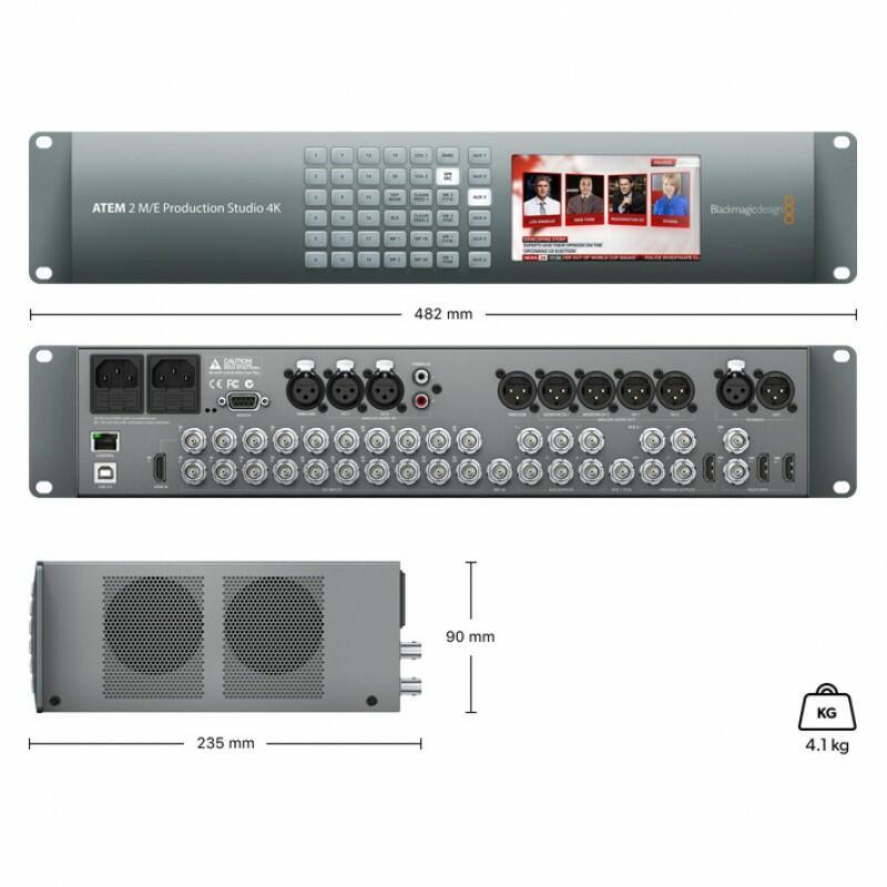 Blackmagic - ATEM 2 M/E Production Studio 4K
