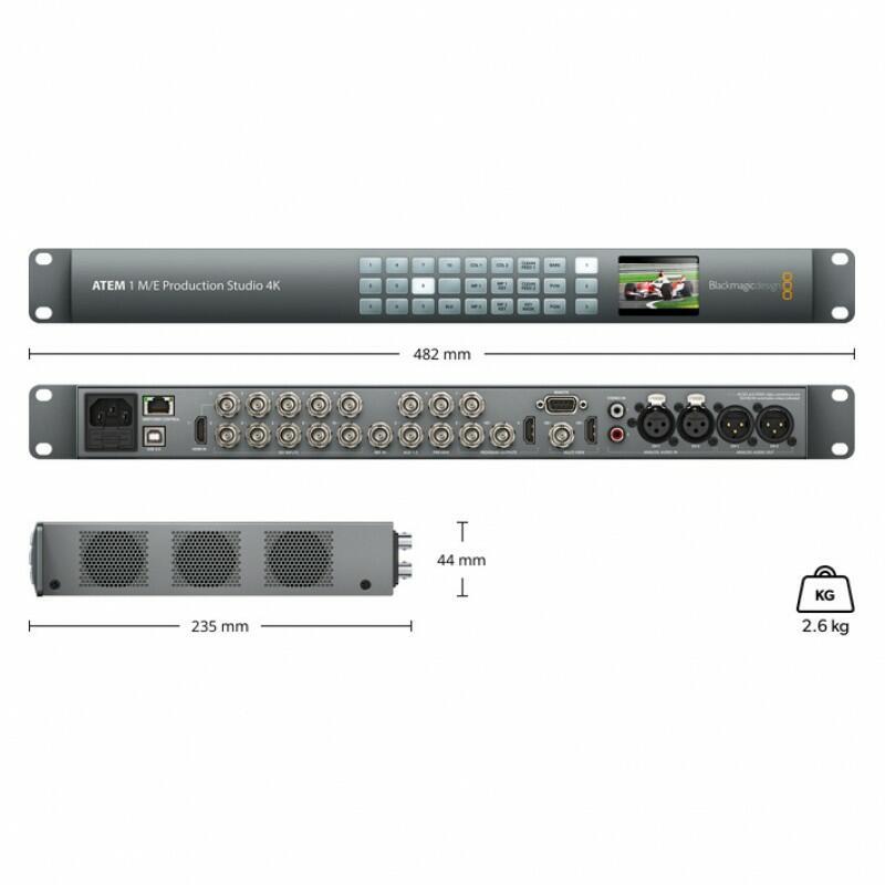 Blackmagic - ATEM 1 M/E Production Studio 4K
