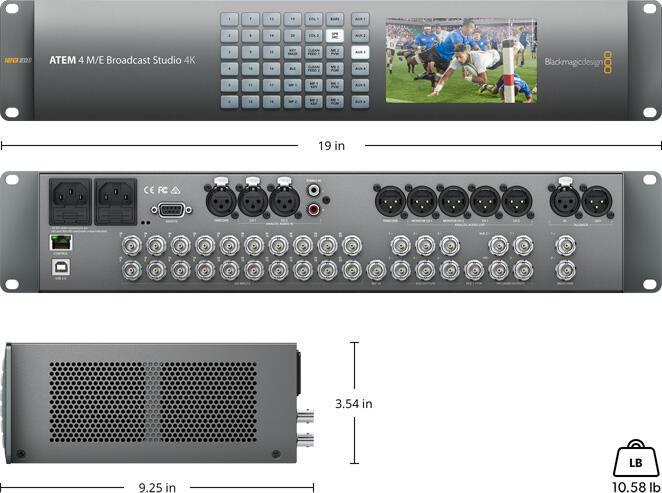 Blackmagic - ATEM 4 M/E Broadcast Studio 4K