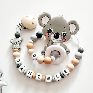 Set nascita Koala grigio