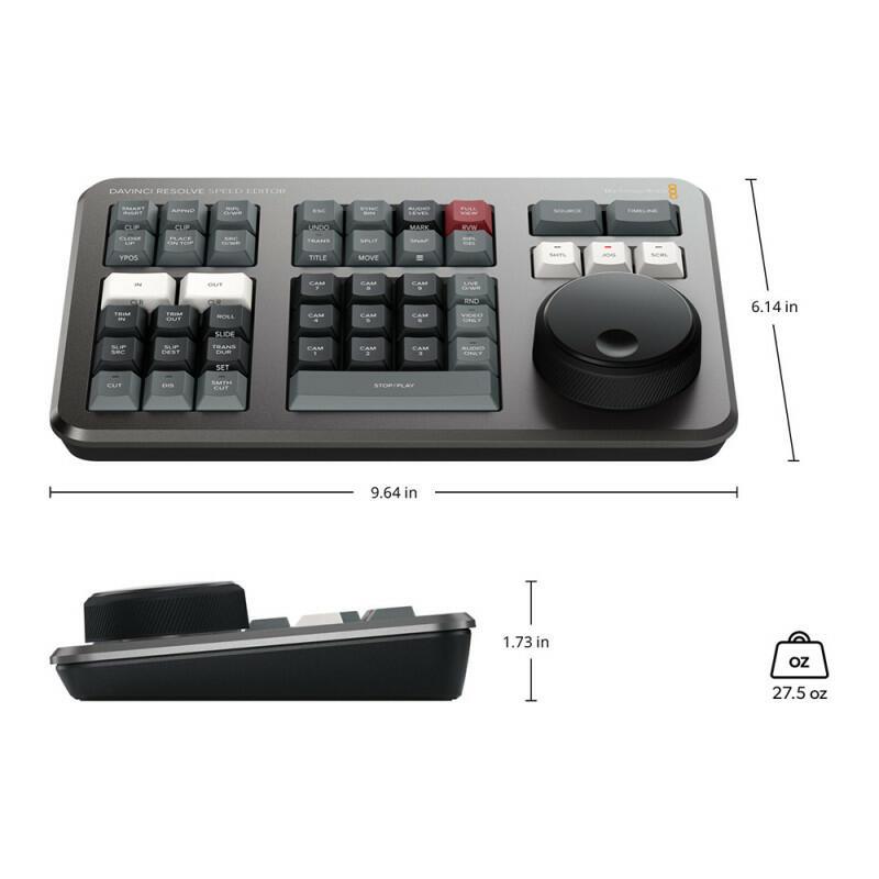 Blackmagic - DaVinci Resolve Speed Editor