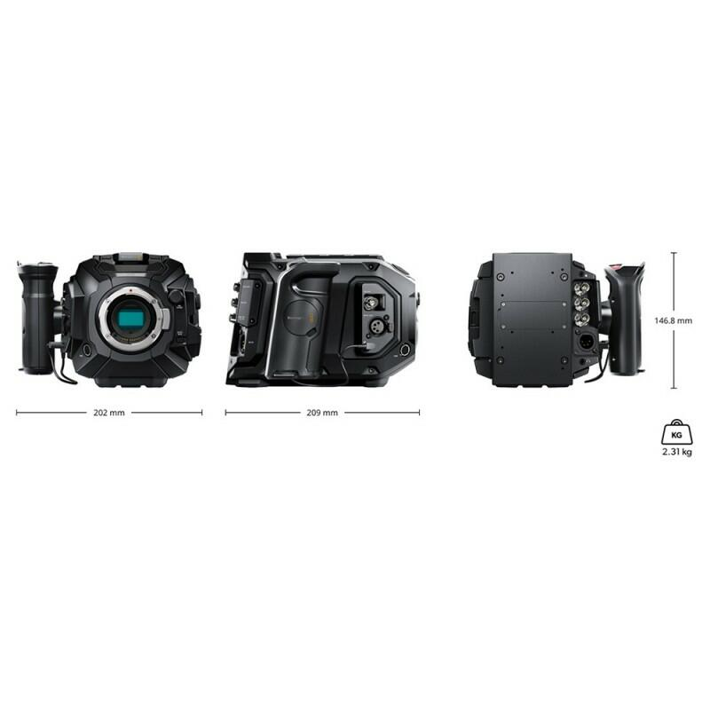 Blackmagic - URSA Mini Pro 4.6K G2