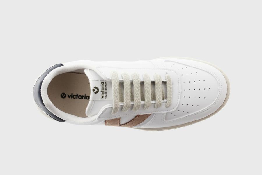 Victoria - Sneaker 129101 - Bianco V Cuarzo