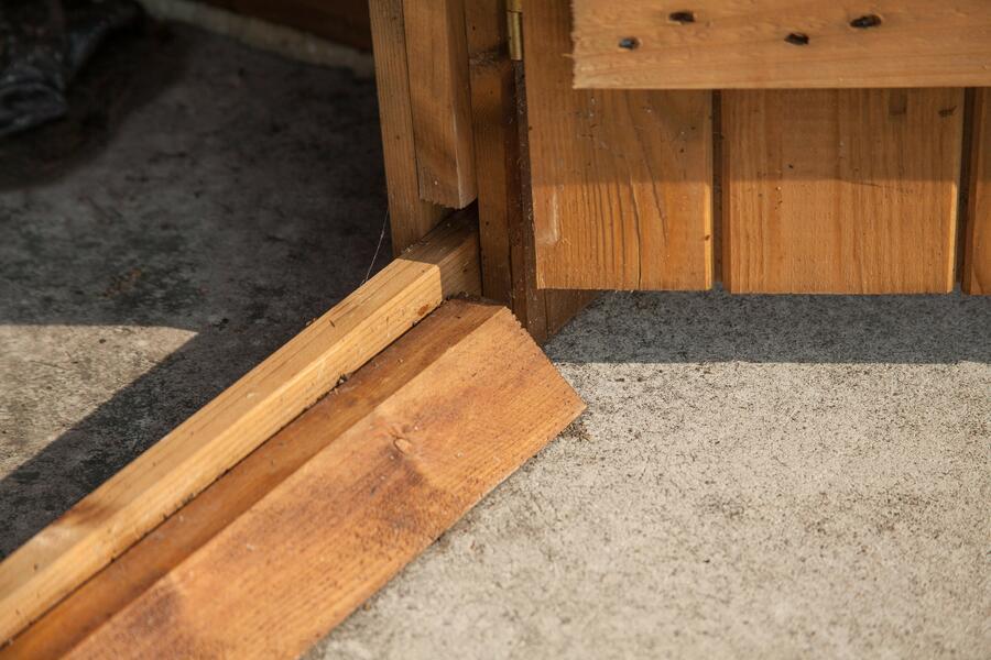Casetta in legno impregnata in Autoclave 2,00 m x 2,00 m - Mod. Olbia - 19 mm - INCLUSO PAVIMENTO,GUAINA e TRASPORTO