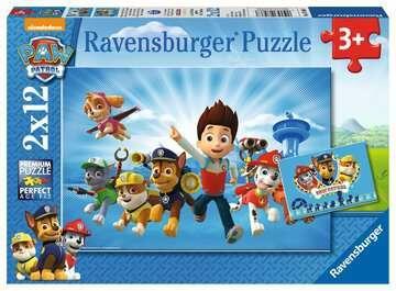 PUZZLE DOPPIO 12 PEZZI PAW PATROL 26 X 18 CM RAVENSBURGER