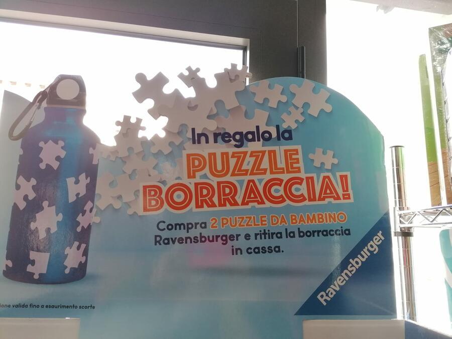 PUZZLE PANORAMICO 200 PEZZI BELLISSIME PRINCIPESSE DISNEY 49 X 36 CM RAVENSBURGER