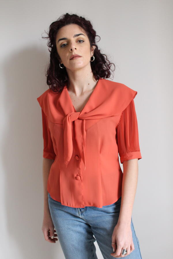 Camicia arancio