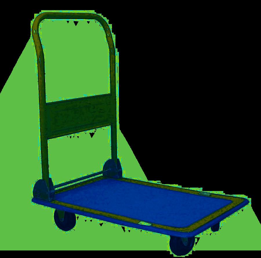 Carrello da trasporto con maniglia - carico max 150kg - Workman Storage 8391