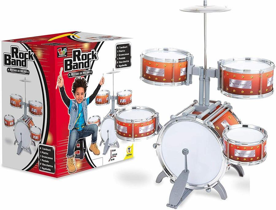 Set copleto batteria bimbo Rock Band - Teorema 66433 - 3+