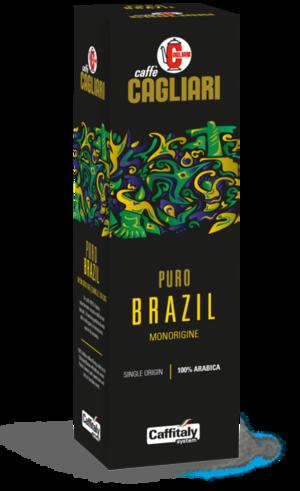 """10 CAPSULE CAFFITALY CAGLIARI """"MONORIGINE BRAZIL"""""""