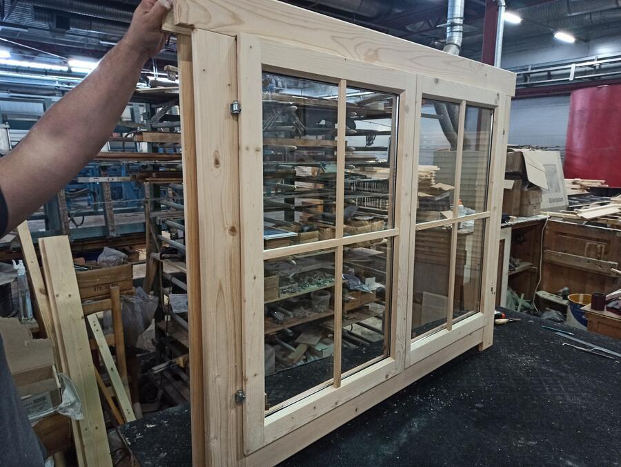 Casetta in legno 5,00 m x 3,00 m - Mod. Iseo - 44mm
