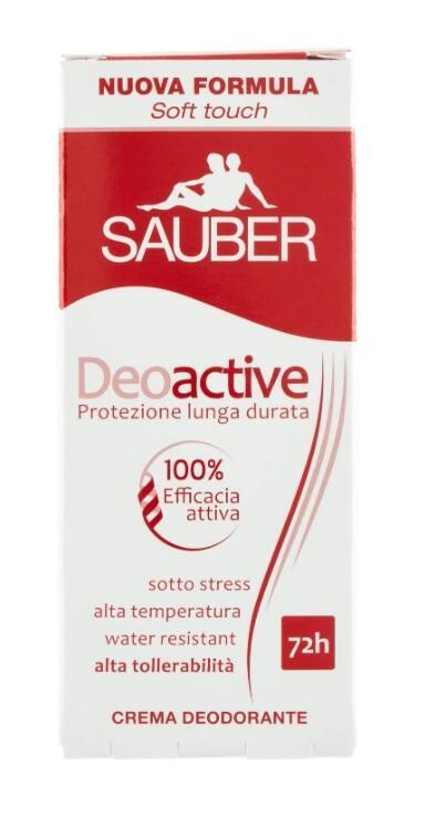 Sauber Deodorante Deoctive Crema - 30 Ml