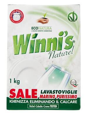 Winni's - Sale Lavastoviglie, Marino Purissimo - 1000 g