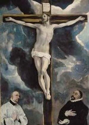 Puzzle - El Greco Cristo in croce - Edizioni Ricordi 3001N27010 - 70 x100 cm 2000 pz