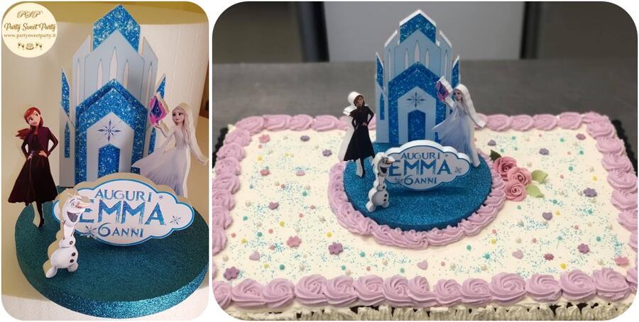 Cake topper FROZEN  Centrotavola