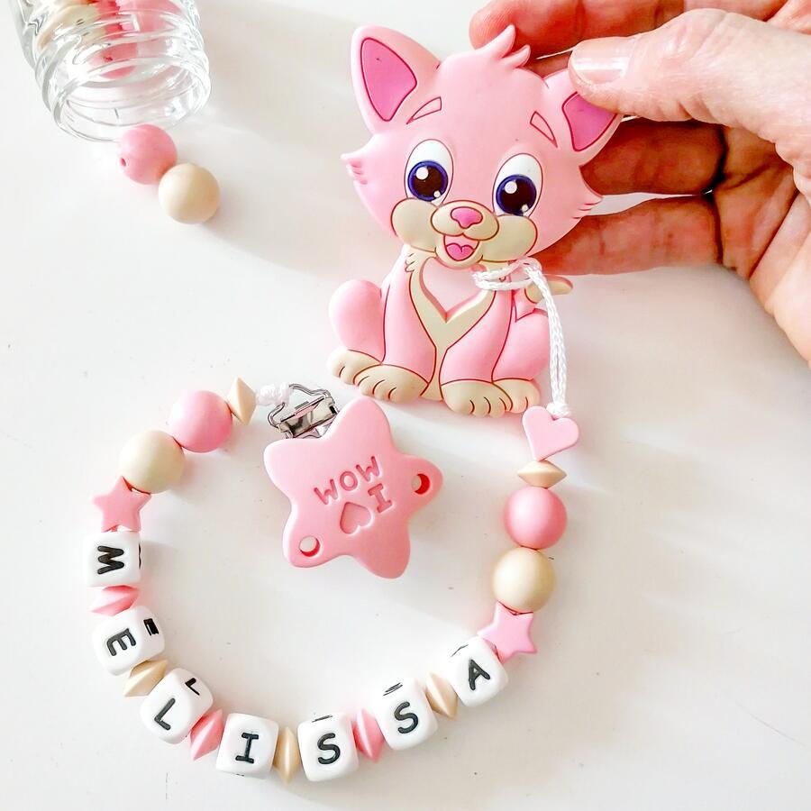 Beige e rosa pastello