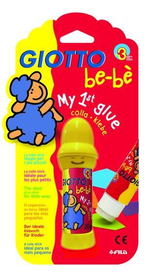 Giotto be-bè My 1st glue  - La prima colla - Stick 20 gr