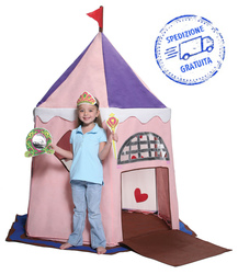 Tenda gioco Bazoongi Fairy Princess Castle