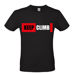 T-shirt KEEP CLIMB