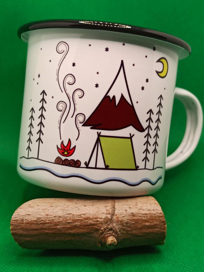 Tazza western - camping