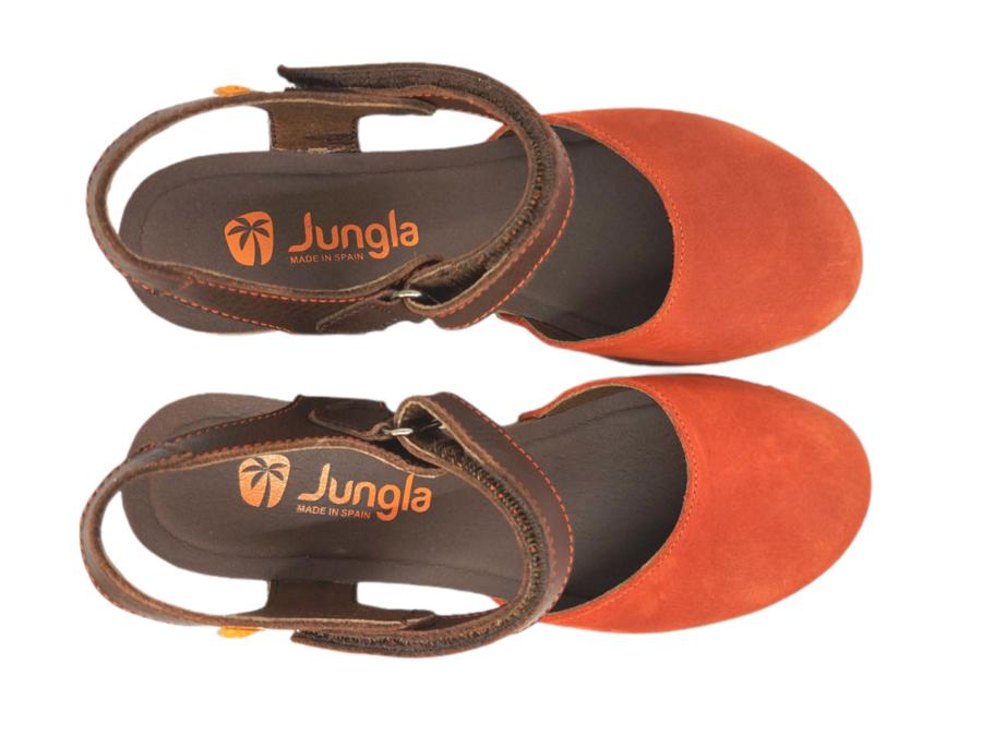 Jungla - 7463 - Arancione - Testa di Moro