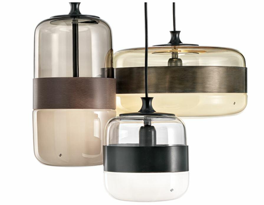 Lampada a Sospensione FUTURA Piccola al LED in Vetro Soffiato di Vetreria Vistosi, Varie Finiture - Offerta di Mondo Luce 24