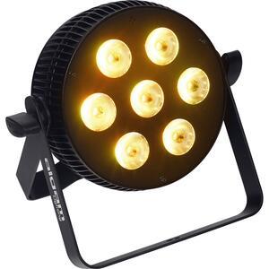 ALGAM LIGHTING - SLIMPAR-710-HEX PROIETTORE PAR LED 7 X 10W RGBWAU