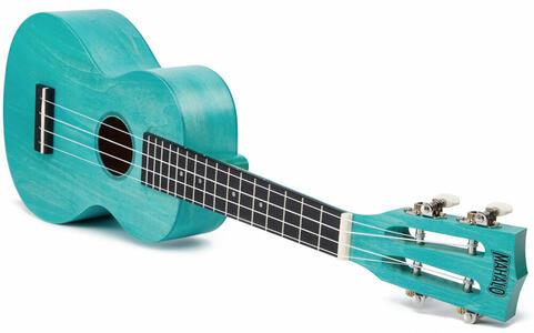 Mahalo  Ukulele da Concerto Aqua Blue