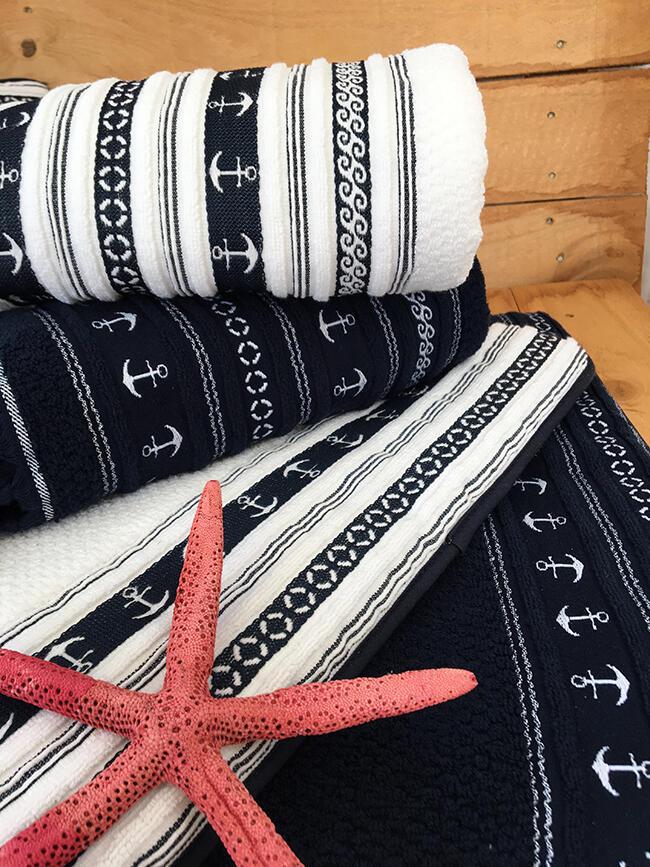 Set Asciugamani Santorini di Marine Business - Offerta di Mondo Nautica 24
