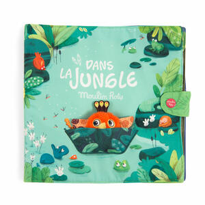 Dans la Jungle - Libro di stoffa Attività
