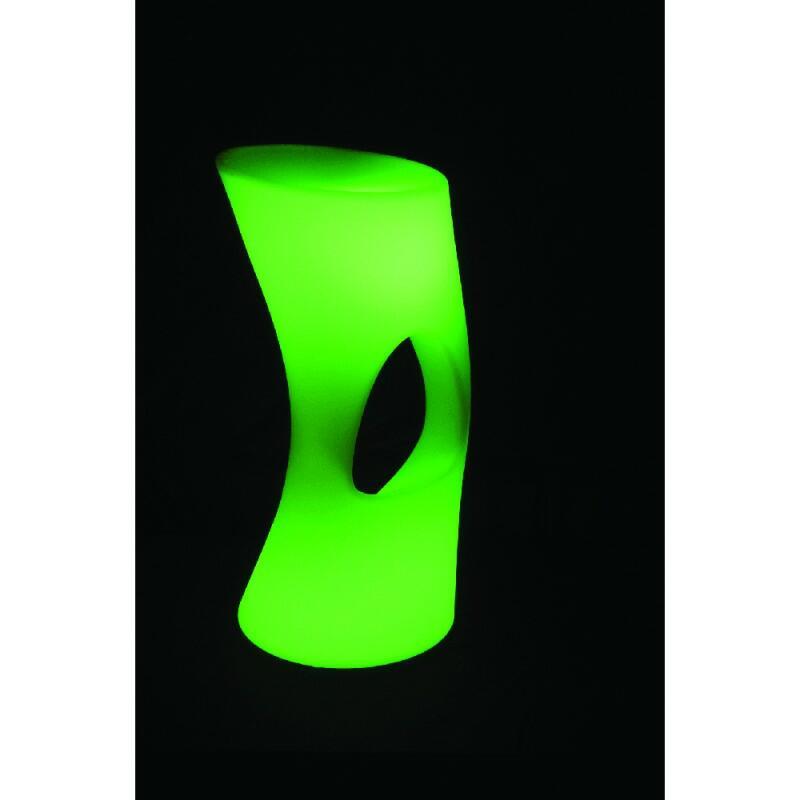 AFX Light - Sgabello da bar illuminato a LED RGBW