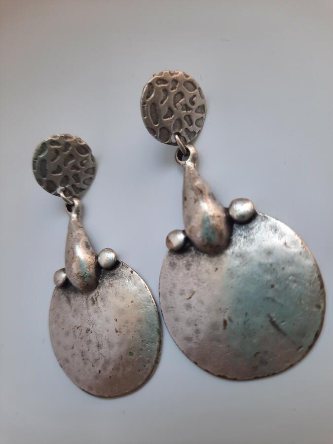 Orecchini pendente argento