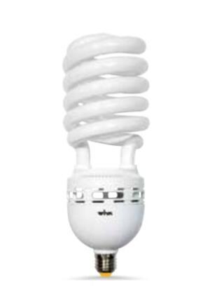 LAMPADA A BASSO CONSUMO TUBOLARE 55W E27 230V 2700K
