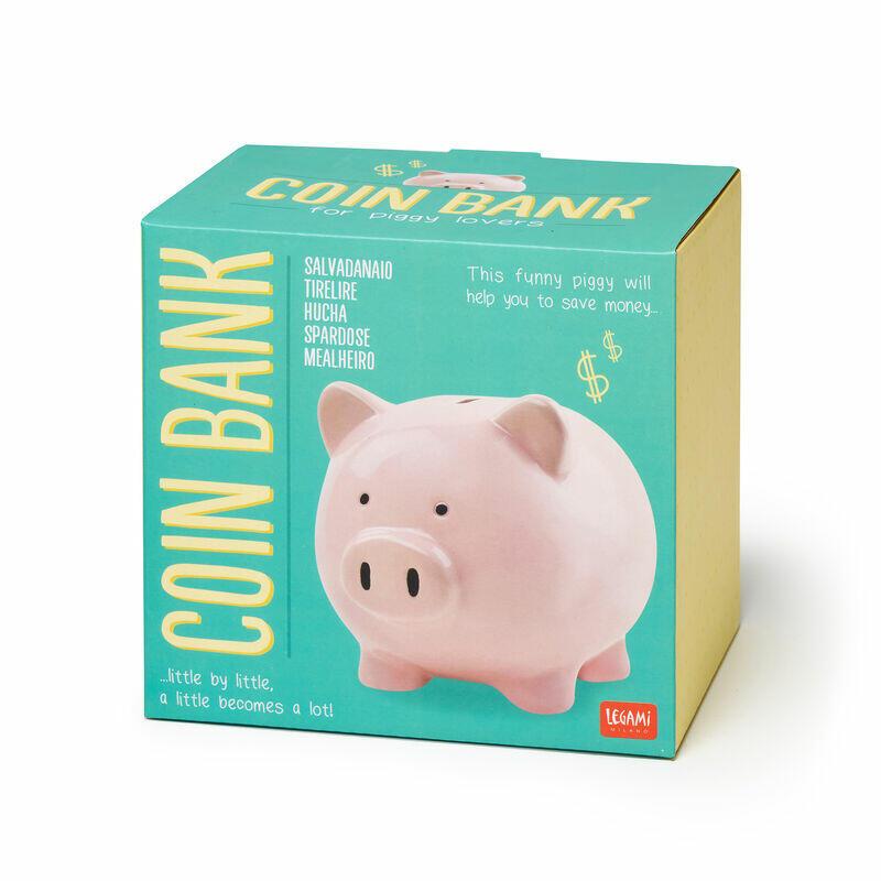SALVADANAIO COIN BANK MAIALINO LEGAMI