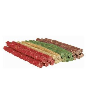 Trixie 100 Snack Stix Bastoncini Per Cani Pelle Bovina Ossi 12 cm Pulizia Denti