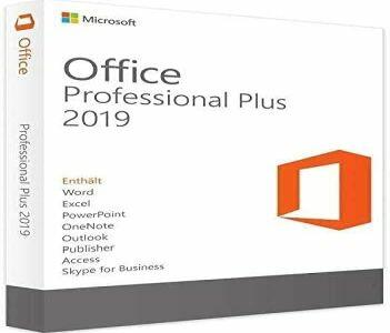 OFFICE 2019 PROFESSIONAL PLUS 32/64 BIT KEY ESD