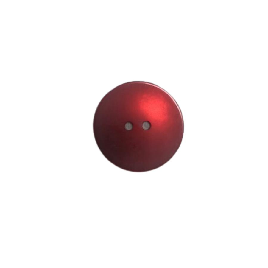 10 bottoni rosso bordeaux lucidi