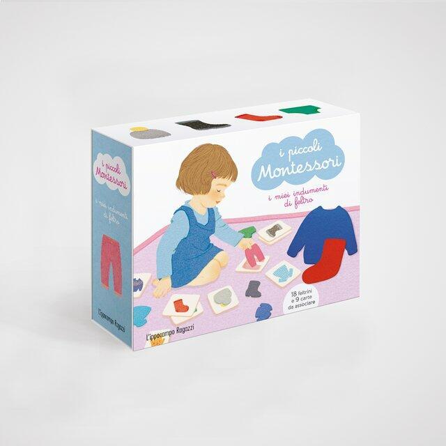 I piccoli Montessori - I miei indumenti in feltro