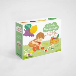 I piccoli Montessori - I miei frutti e ortaggi di feltro