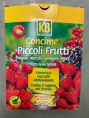 Concime Piccoli Frutti 800 gr
