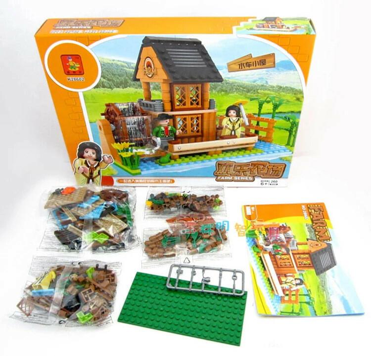 Farm set fattoria 260 pz - Ausini 28602 - 6+
