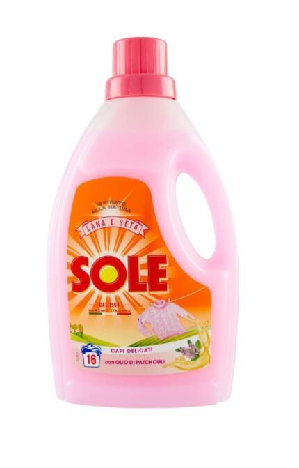 SOLE Mano & Lavatrice Liquido Lana Classico 16 Lavaggi 1000 Ml