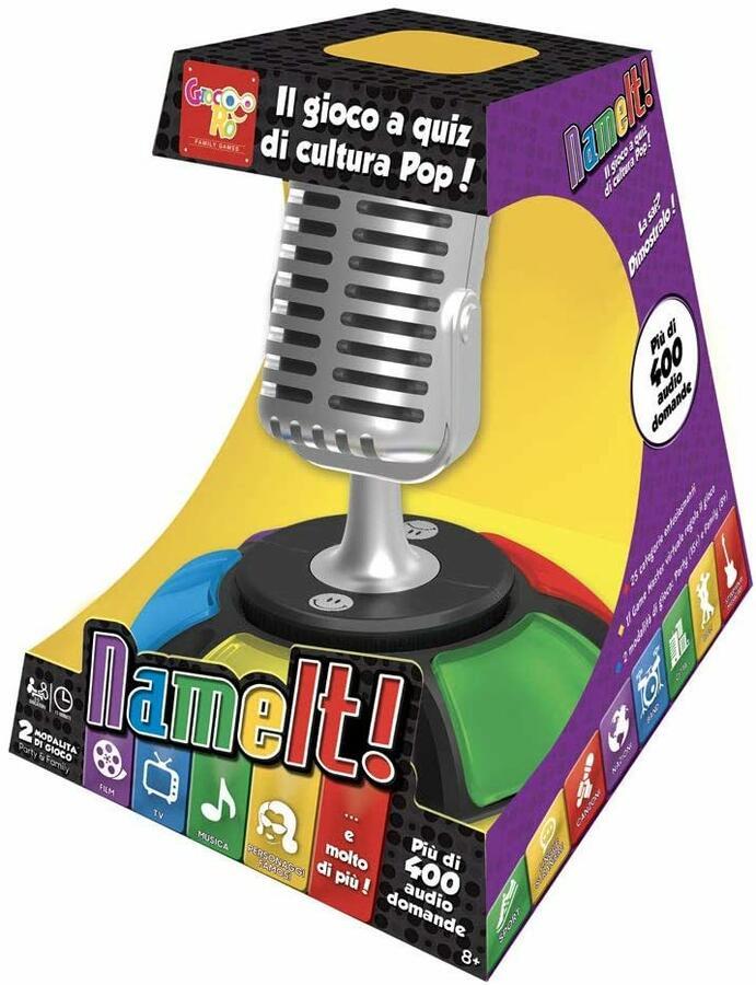 Nameit Audio Trivia Quiz - Rocco Giocattoli 1117102 - 8+ anni