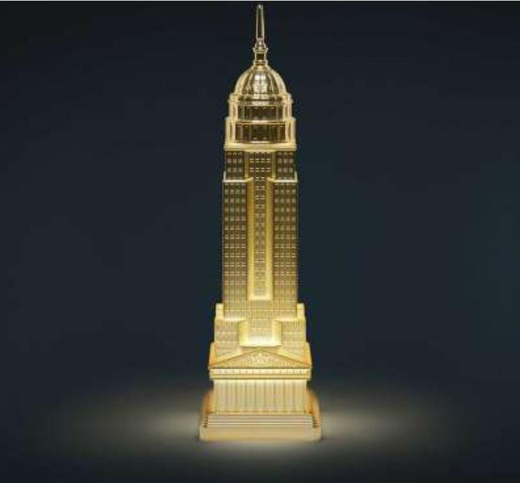 Lampada da Tavolo e da Terra Empire METAL FINISH al LED di Qeeboo, Varie Finiture - Offerta di Mondo Luce 24