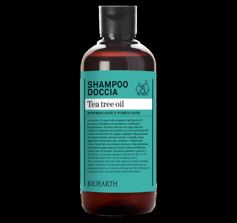 Shampoo Doccia Tea Tree Oil