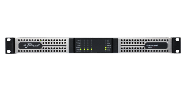 Powersoft - QUATTROCANALI 8804 DSP+D
