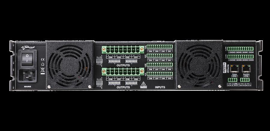 Powersoft - OTTOCANALI 4K4 DSP+D
