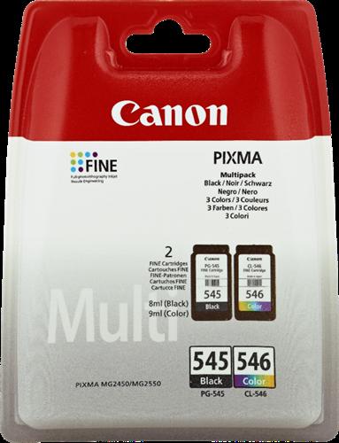 Canon PG-545 + CL-546  Multipack nero / colori