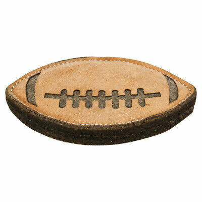 Trixie 35778 Gioco Per Cani Palla Rugby in Pelle Lana 20 cm